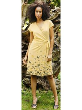 Wrap Dress, $95 @ Hessnatur.com